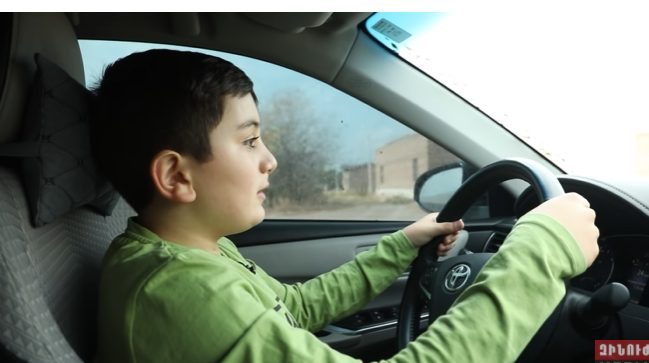 11 ամյա հերոս վարորդը