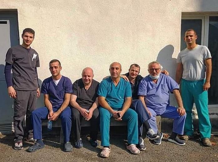 Ռուսաստանի առաջատար կլինիկաների հայ բժիշկներն արձակուրդ են վերցրել ու ժամանել Հայաստան և Արցախ