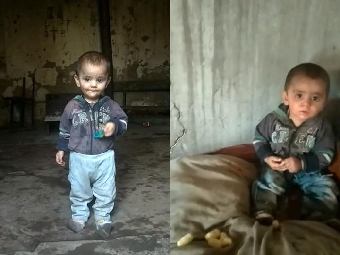 Հուզիչ կադրեր․ Արցախում հայ զինվորը տանը գտել է միայնակ երեխայի․ Տեսանյութ