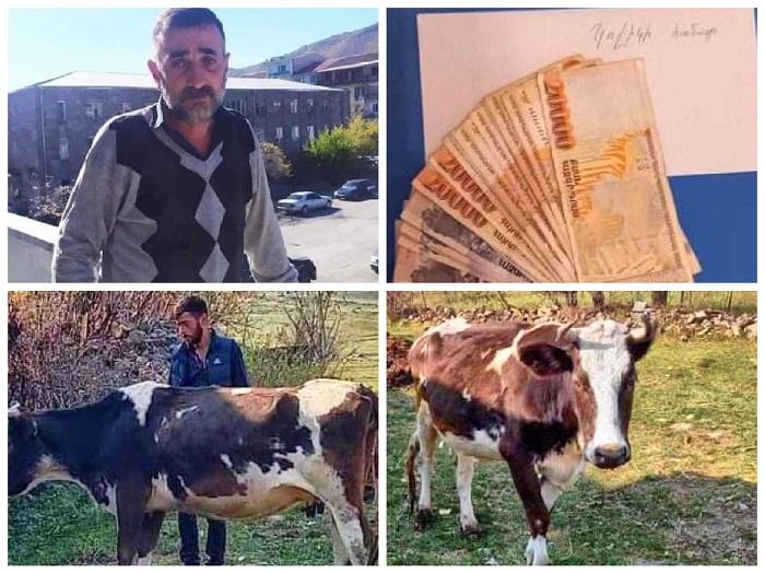 """""""Հիշո՞ւմ եք Գnրիս քաղաքի Ակներ գյուղից պարոն Էդգարին, ով  իր միակ կովը մnրթել ու բաժանել էր զինվորներին"""""""