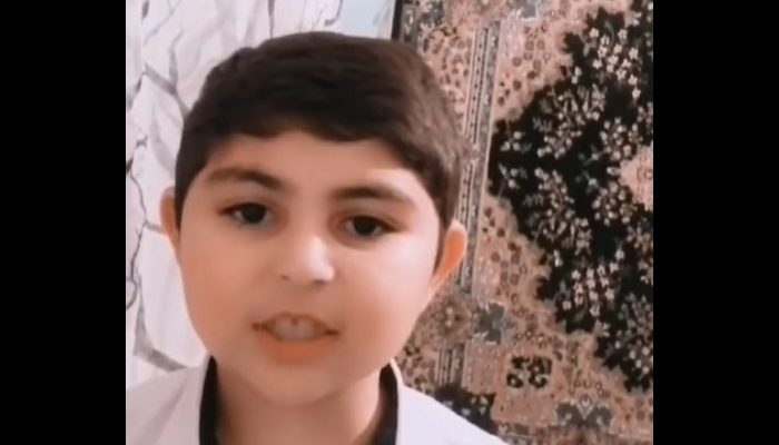 """Փոքրիկ տղայի հուզիչ կատարումը """"շուն թուրքի"""" մասին․ տեսանյութ"""