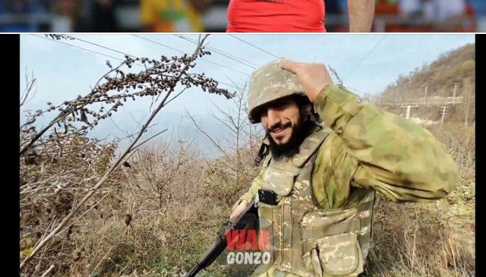 Չեմպիոն Միհրան Հարությունյանը սահմանին․ լուսանկար