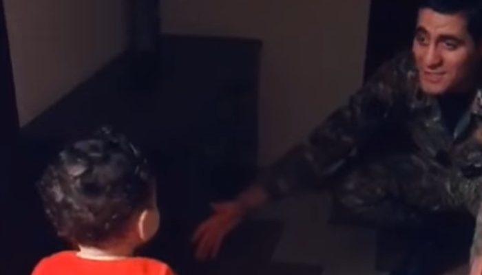 Իսկ եթե սրա համար ստորագրվե՞ց... զինվոր հոր ու դստեր հանդիպումը․ հուզիչ տեսանյութ