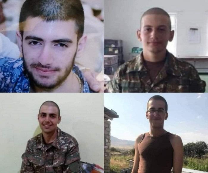 Բացառիկ մանրամասներ երեկ գտնված վեց զինծառայողների մասին