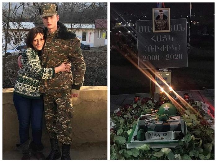 """""""Հավերժս."""" անմահացած հերոս Հայկ Սարգսյանի մայրն անչափ հուզիչ հոլովակ է հրապարակել որդու ծննդյան օրվա առիթով"""