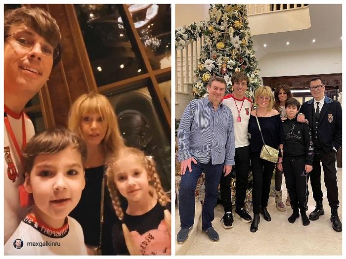 Ալլա Պուգաչովան Սուրբ Ծննդյան երեկոյի ընտանեկան ուշագրավ նկարներ է հրապարակել