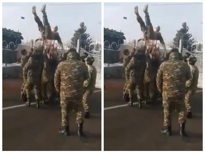 Ահա թե ինչպես են դիմավորում վերադարձած իրենց ընկերոջը զինվորականները. անչափ հուզիչ տեսարան