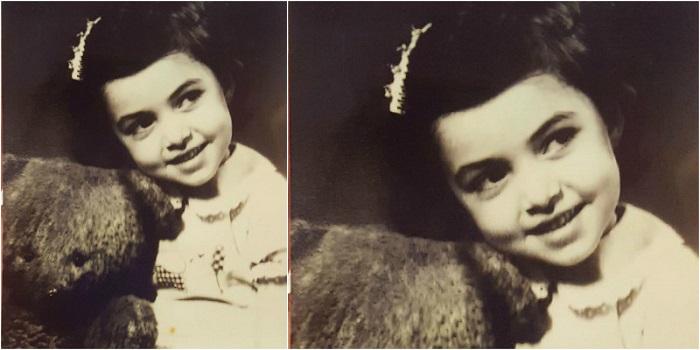 Կարո՞ղ եք ասել, թե որ հայտնի ու սիրված դերասանուհու մանկության լուսանկարն է