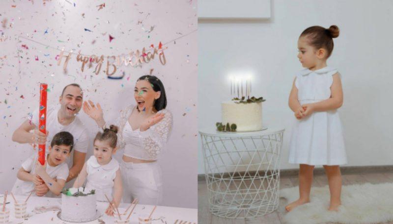 Աստղիկը և Նարբեն իրենց դստեր տարեդարձից օրեր անց անչափ գեղեցիկ ֆոտոշարք են ներկայացրել